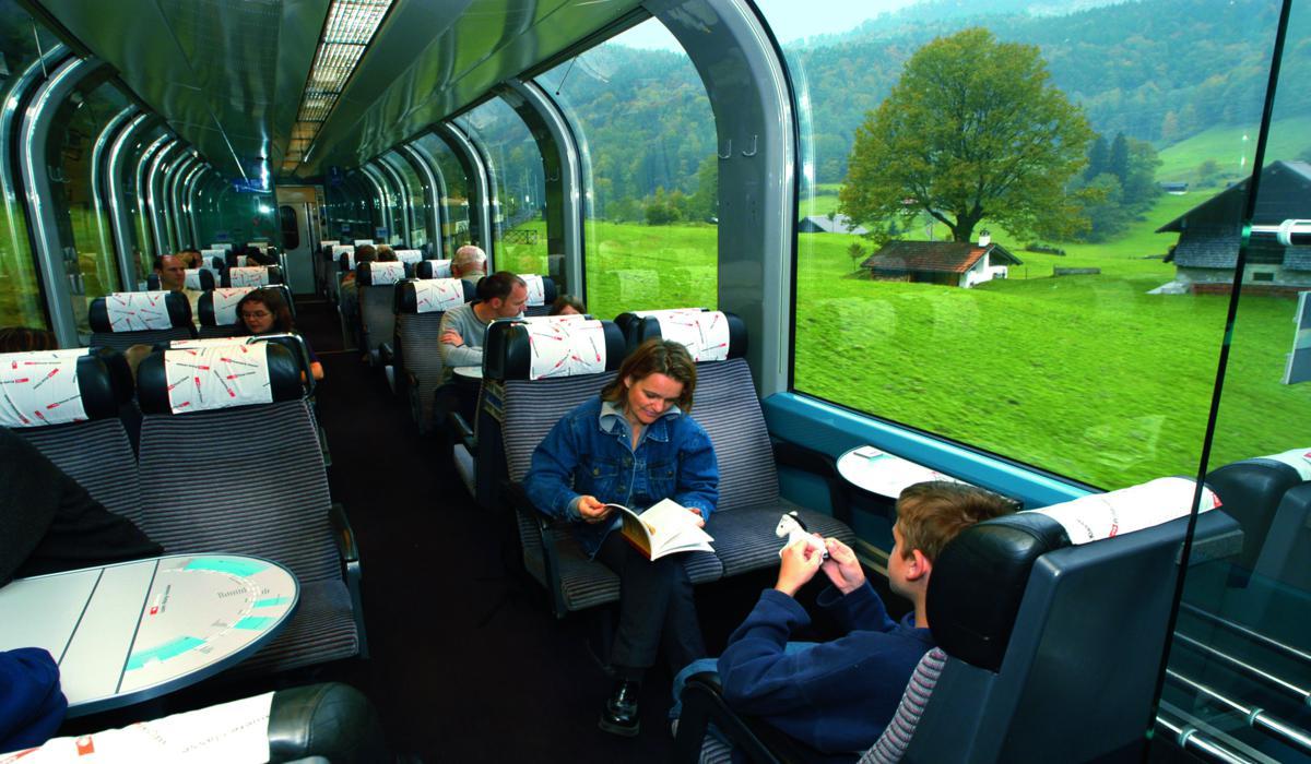 Trem - Golden Pass Line