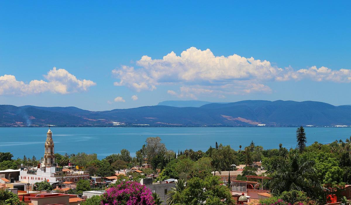 Vista para o Lago Chapala, Ajiijic