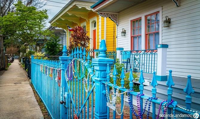 Ruas-de-Marigny-em-Nova-Orleans
