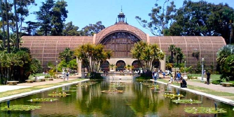 Jardim Botânico no Balboa Parque