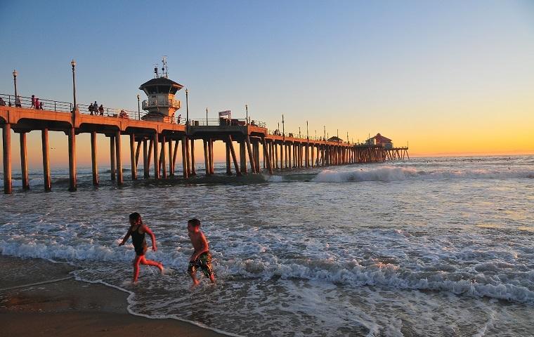 praia de Huntington