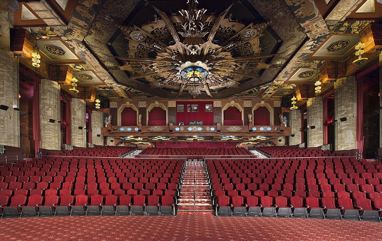 Interior do Teatro Chinês